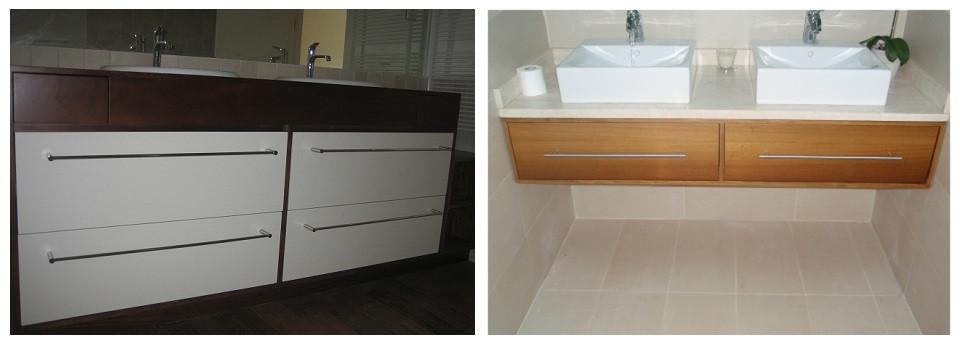 Con la madera aportamos un toque cálido al diseño de baños