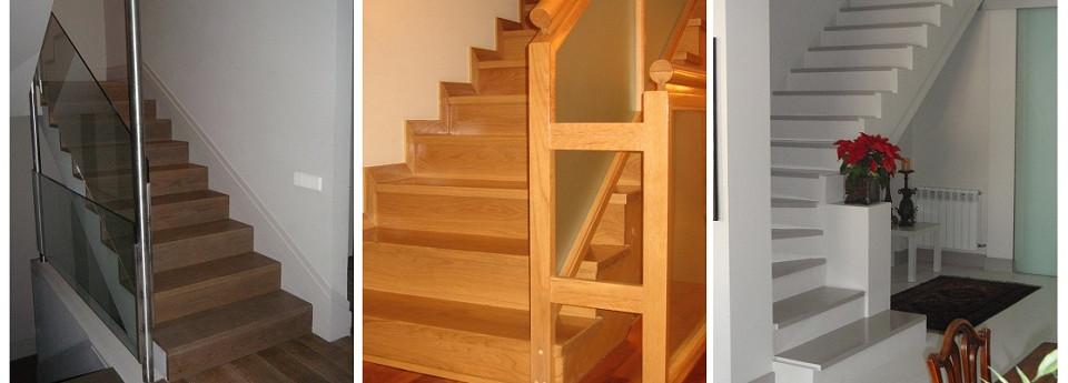 Realizamos todo tipo de escaleras, tanto en madera como combinadas
