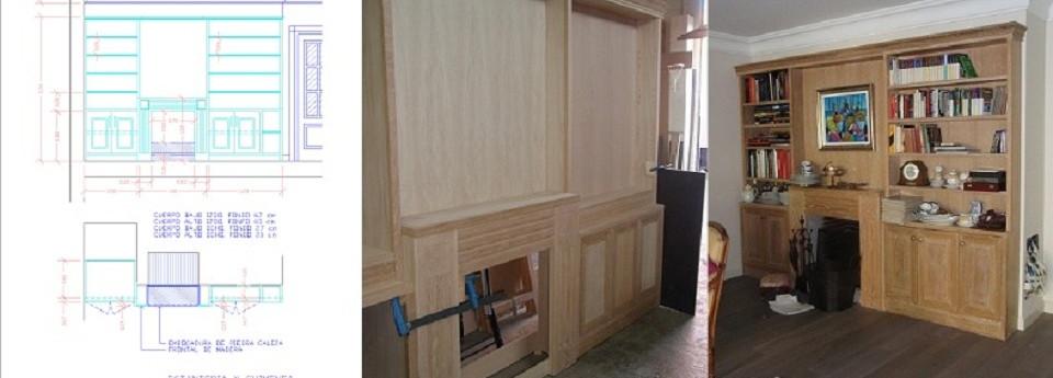 Creamos todo tipo de muebles adaptándonos a su espacio y necesidades
